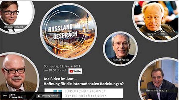 """""""Realistische Auseinandersetzung""""- Jürgen Trittin bei Diskussionsrunde über russisch-amerikanisches Verhältnis"""